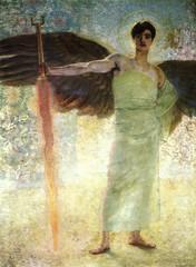 Der Wächter des Paradieses, 1899, by Franz Stuck