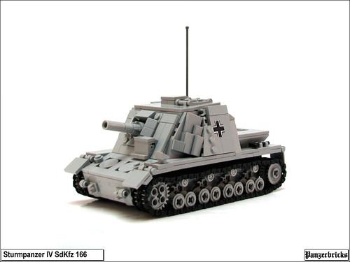 Sturmpanzer IV de Panzerbricks