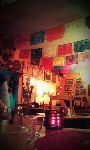 Viva Mexico -Mexican Restaurant in Edinburgh from  Marieislikeapavement on Flickr