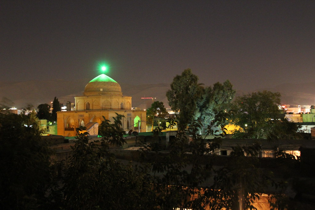 Our view of the Sweeping Mosque or Bibi Dokhtaran Mausoleum near by