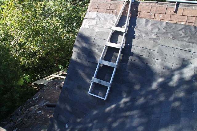 Ladder to Help Shingling