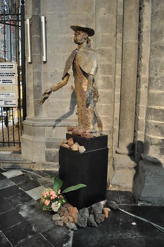 2011.09.25.159 TOURNAI - Cathédrale Notre-Dame de Tournai - Père Damien