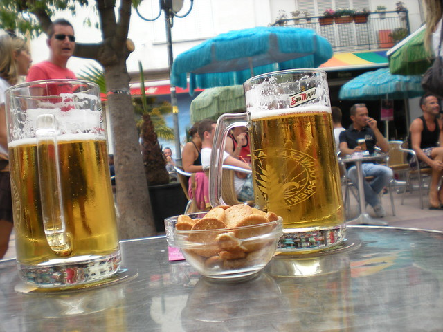 San Miguel beer - Parrots Pub