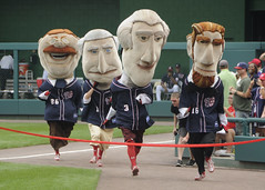 Washington Nationals Racing Presidents Auditions