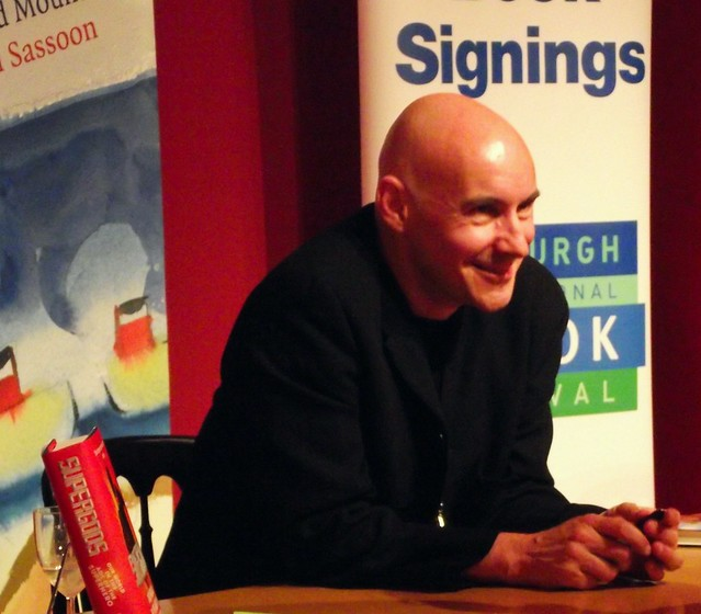 Grant Morrison in Edinburgh