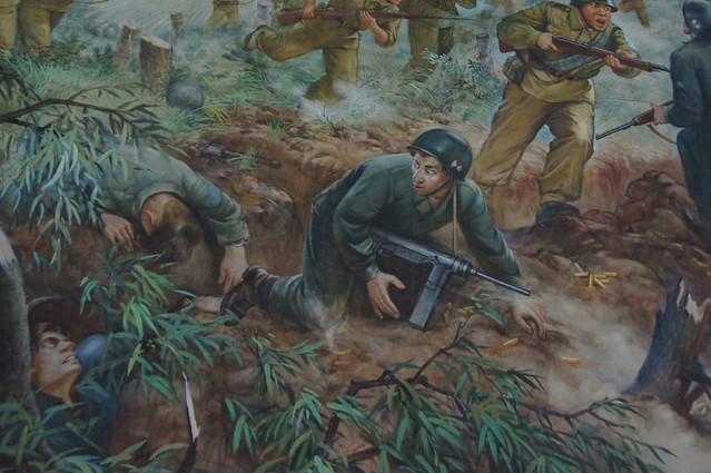 Defeated American Army in North Korea