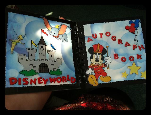 Homemade #Disney Autograph Book
