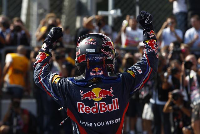 Sebastian Vettel Red Bull infinitif1challenge