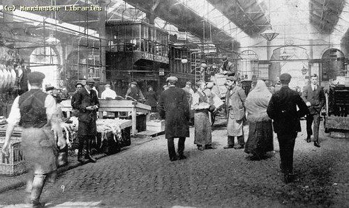 Smithfield Wholesale Fish Market, 1900