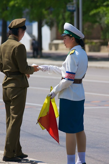 On the Streets of Pyongyang, DPRK