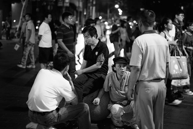 Gathering - Nanjing Lu, Shanghai.