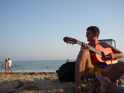 guitarrista playero