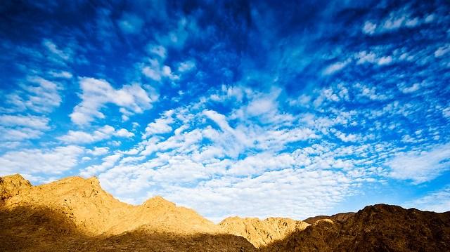 Sinai cloudscape