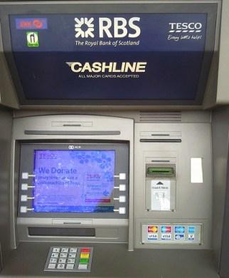 Tesco Cash machine