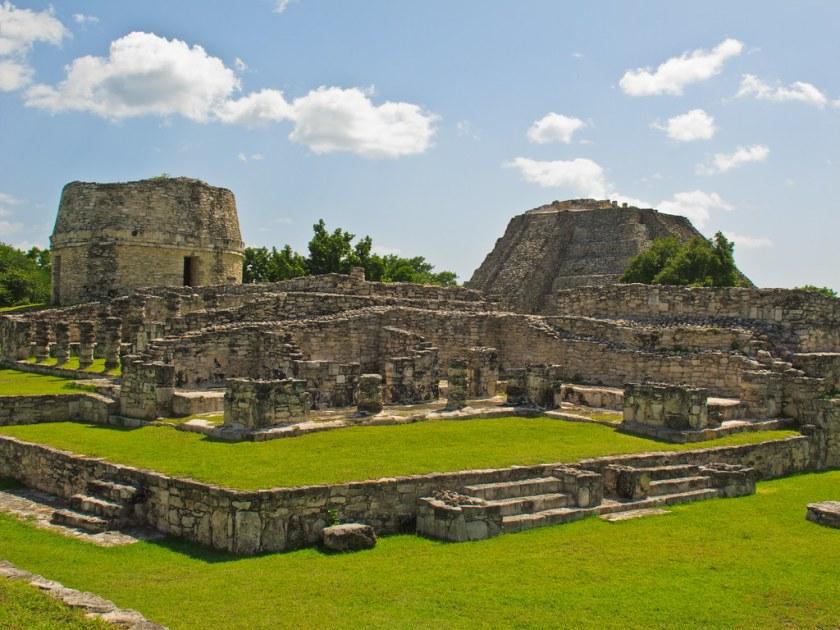 Round temple at Mayapan