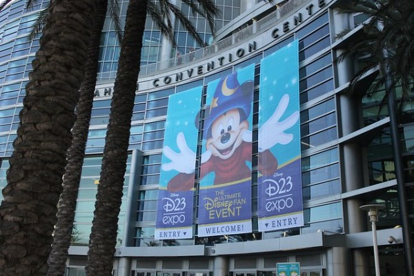 D23 Expo at the Anaheim Convention Center