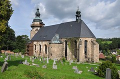 Horní Slavkov (okres Karlovy Vary), kostel sv. Jiří