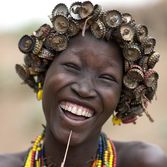 Dassanetch caps wig - Ethiopia