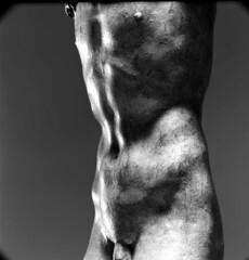 Detail of Crucifix attributed to Michelangelo, by Aurelio Amendola