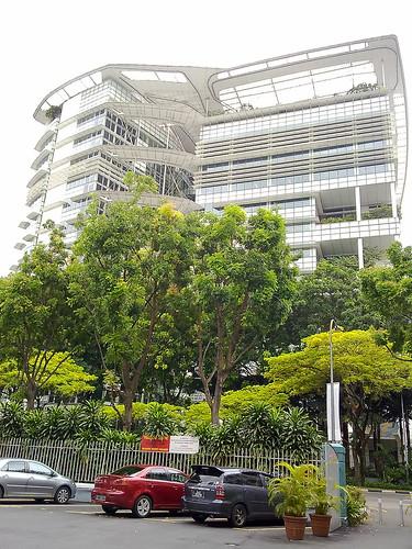 Mirador gratis, situado en National Library, en Singapur