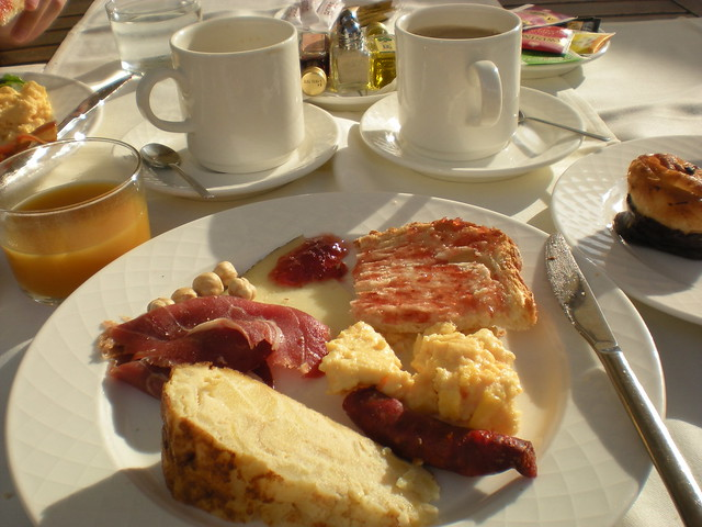 Breakfast plate - Dolce Sitges