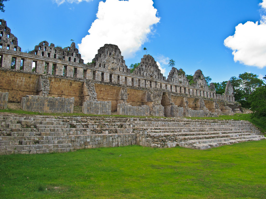 The Quadrangle of the Doves, Uxmal