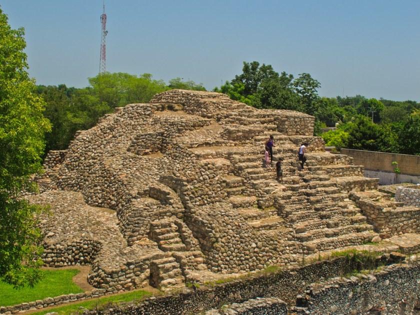 Pyramid in Acanceh