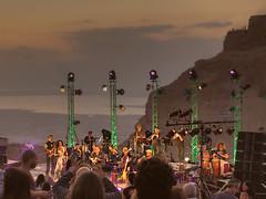Israeli music start David Broza performs at Masada by Avinoam Michaeli
