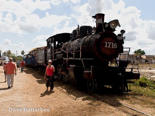 Engine 1716 before tourist 'joy ride'