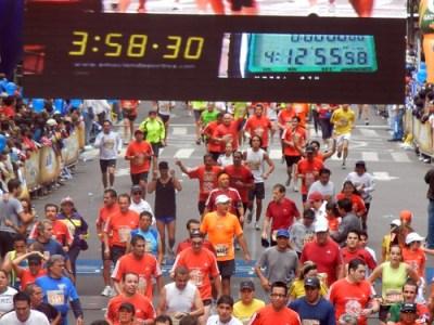 Maraton de la Ciudad de Mexico 2011 Maratonistas