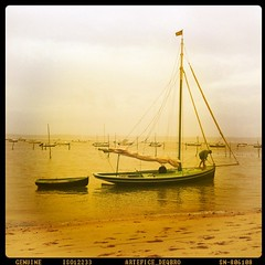 Sagesse voileuse... Dans l'attitude, dans le bateau, dans l'annexe, dans la manière...