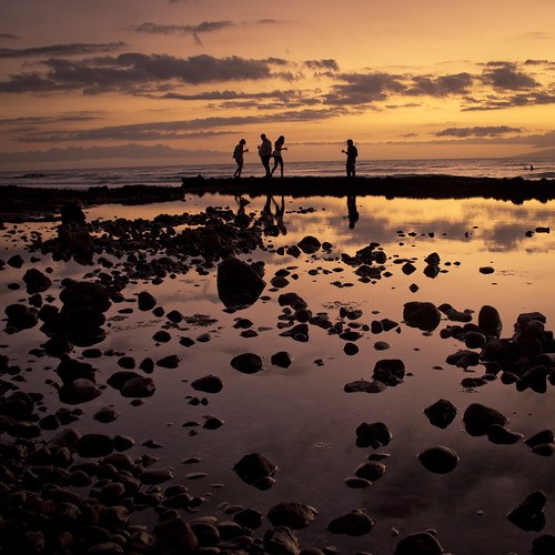 Sunset with Friends (Tenerife) - Photo : Gilderic