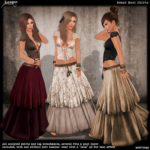 *League* Nomad Maxi Skirts