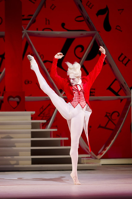 Edward Watson as The White Rabbit in Alice's Adventures in Wonderland  © Johan Persson/ROH 2011