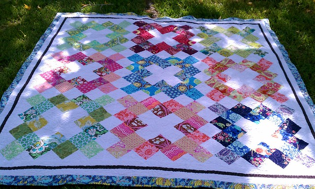 Pinked Charms Quilt