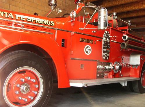 Santa Fe Springs gold leaf fire apparatus by MrBigCity
