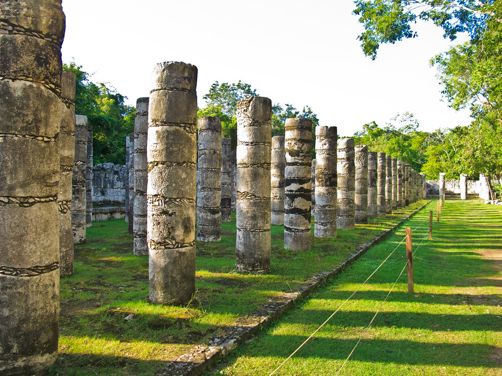 Part of the Thousand Columns