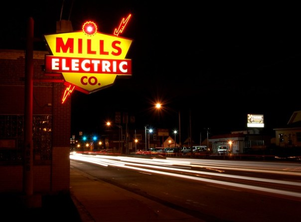 Mills Electric Co. - 4828 Calumet Avenue, Hammond, Indiana U.S.A. - September 10, 2011