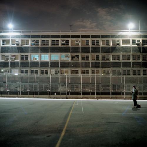 Junior High School 50. Ericsson Playground. Greenpoint, Brooklyn.