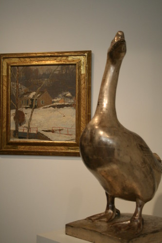 Goose and art from Bucks Co.