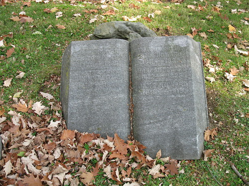 Tombstone of Horton and Hannah Howard, Woodland Cemetery