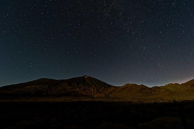 Llano de Ucanca. Noche / Night