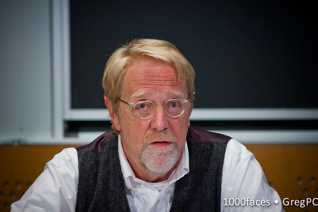 Face - Jonathan Taplin (@AnnenbergLab) speaking at #FoE5 -