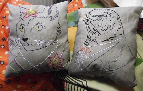 Ryan Berkley cushions