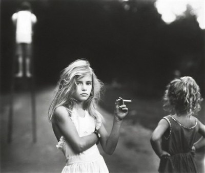 Sally Mann Candy Cigarette 1989