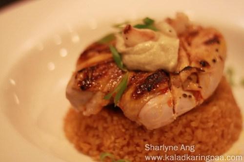 Chicken Inasal at Cafe Uma 1