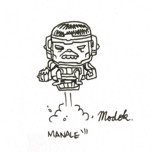 MODOK by Steve Manale