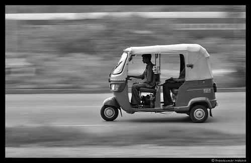 Panning in BW!