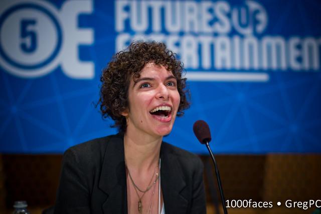 Face - Germaine Halegoua (@grhalegoua) speaking at #FoE5
