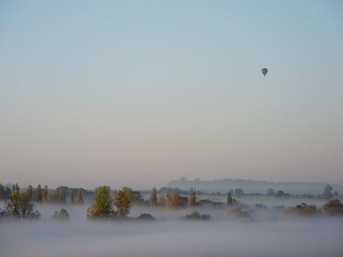 Early morning balloon ride